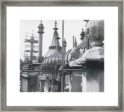 The Roof Framed Print by Retro Images Archive
