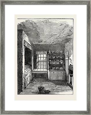 The Room In Which Livingstone Was Born, Blantyre Framed Print