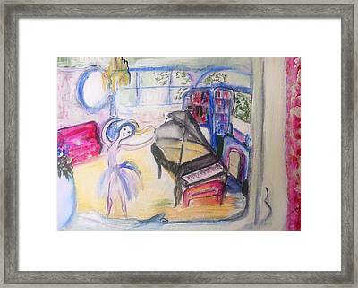 The Room Of My Mother Framed Print by Judith Desrosiers