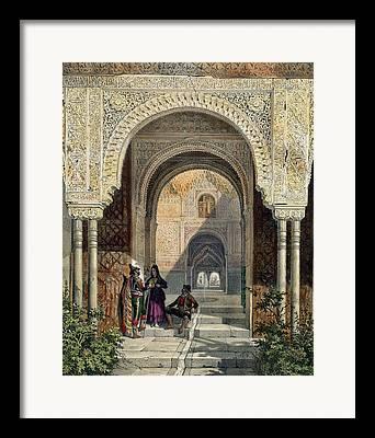 Tile Drawings Framed Prints