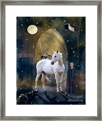 The Room Remembers Framed Print by Judy Wood