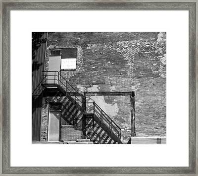 The Rooms Framed Print by Richard Stanford