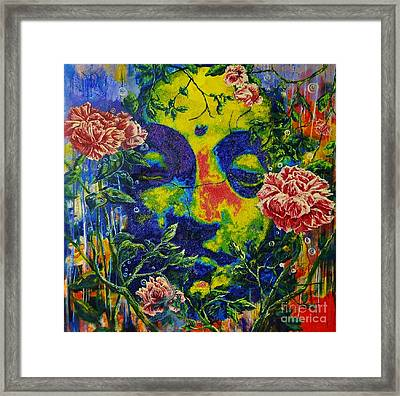 The Rose Arbor Framed Print