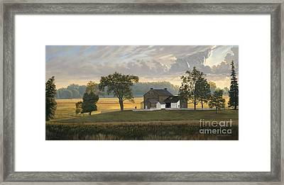 The Rose Farm Gettysburg Framed Print