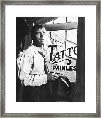 The Rose Tattoo, Burt Lancaster, 1955 Framed Print by Everett