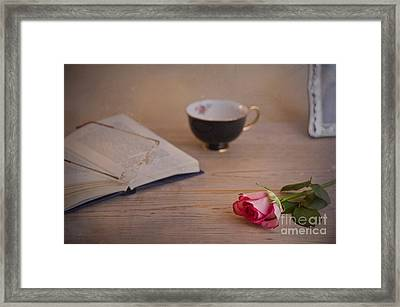 Framed Print featuring the photograph The Rose by Trevor Chriss