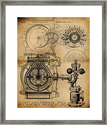 The Rotary Engine Framed Print