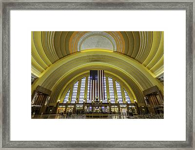 The Rotunda Framed Print by Keith Allen