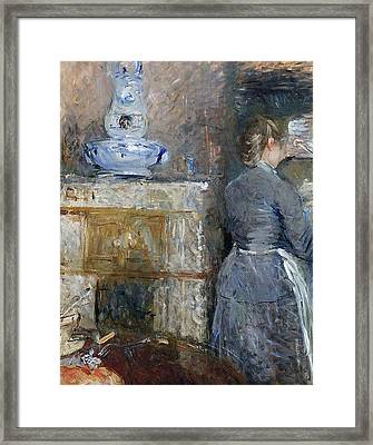 The Rouart S Dining Room Framed Print