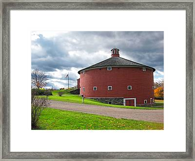 The Round Barn Framed Print by William Alexander