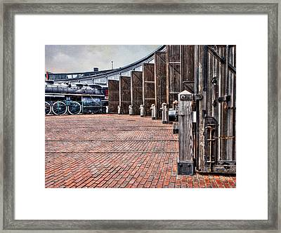 The Roundhouse Framed Print