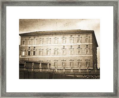 The  Row  Framed Print by Steven  Taylor