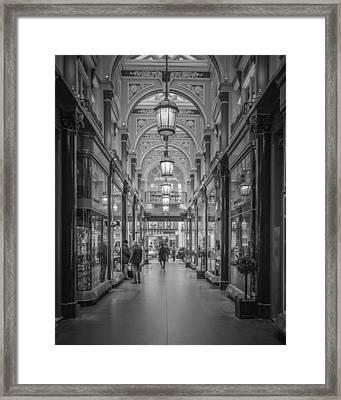The Royal Acade Framed Print by Nicholas Robinson
