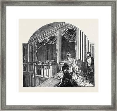The Royal Chapel Framed Print by English School