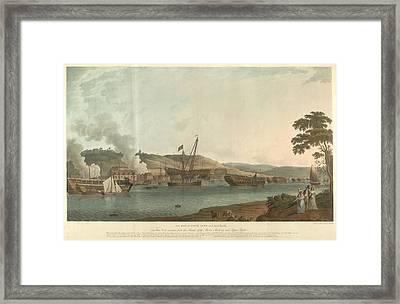 The Royal Dockyard At Chatham Framed Print