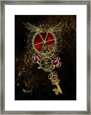 The Royal Key Framed Print
