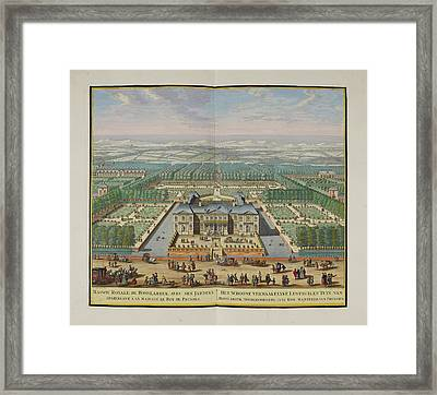 The Royal Palace At Honselaarsdijk Framed Print by British Library