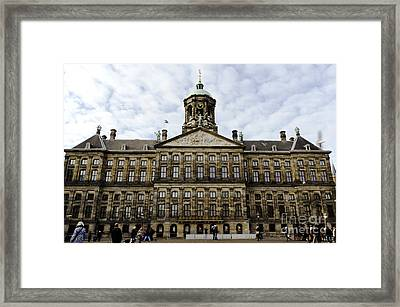 The Royal Palace Framed Print by Pravine Chester