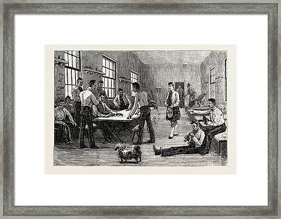 The Royal Wedding, Dividing The Princess Beatrices Wedding Framed Print by English School