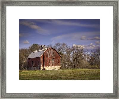 The Royalton Farm Framed Print by Thomas Young