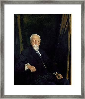 The Rt Hon. Sir Clifford Allbutt Framed Print by Sir William Orpen