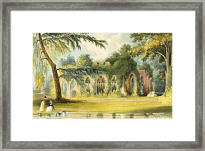 The Ruins   Frogmore Framed Print by John Gendall