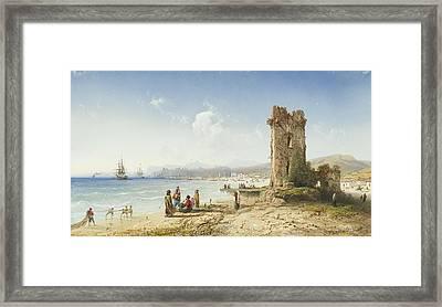 The Ruins Of Chersonesus Crimea Framed Print