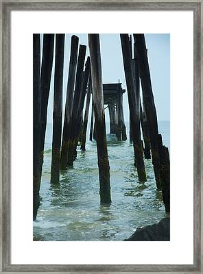 The Ruins Of The 59th Street Pier  Framed Print