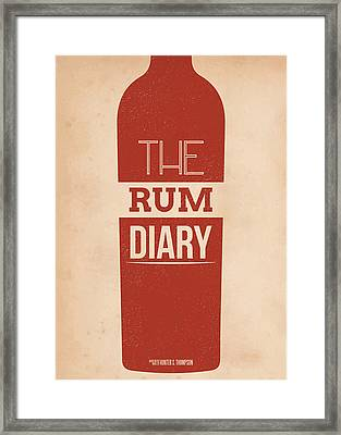 The Rum Diary Framed Print