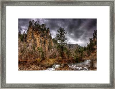 The Run Off Framed Print by Michele Richter