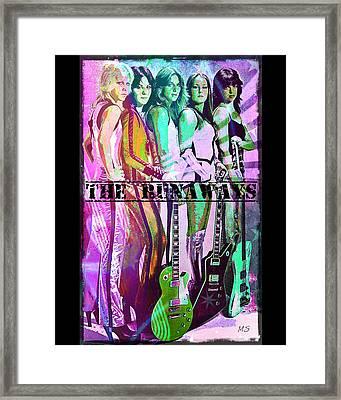 The Runaways Framed Print by Absinthe Art By Michelle LeAnn Scott