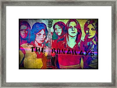 The Runaways - Up Close Framed Print by Absinthe Art By Michelle LeAnn Scott