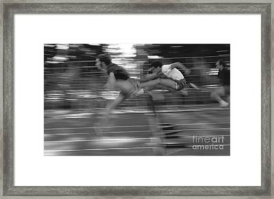 The Runners Framed Print