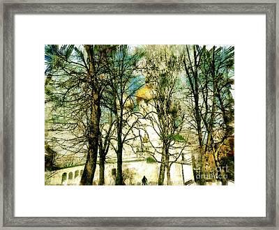 The Russian Church Framed Print