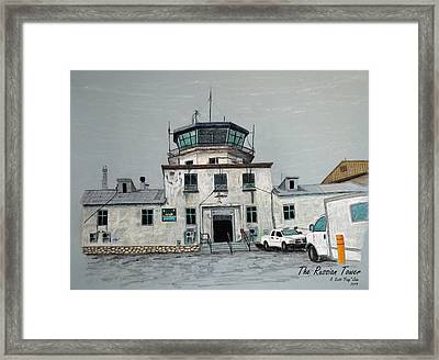 The Russian Tower Framed Print by Frag Jobe