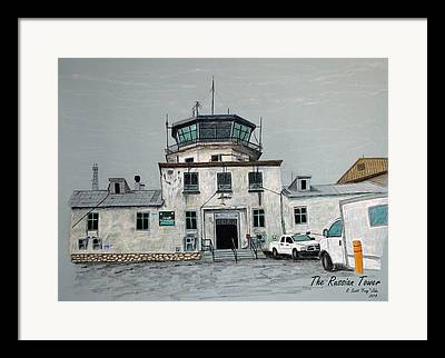 Airfield Framed Prints
