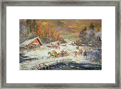 The Russian Winter Framed Print