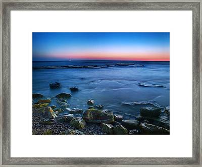 The Rustle Of The Waters Framed Print by Meir Ezrachi