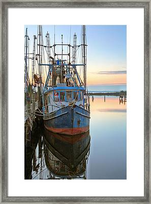 The Rusty Shrimper Framed Print by JC Findley
