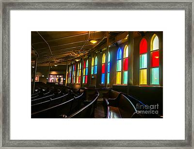 The Ryman Auditorium Framed Print