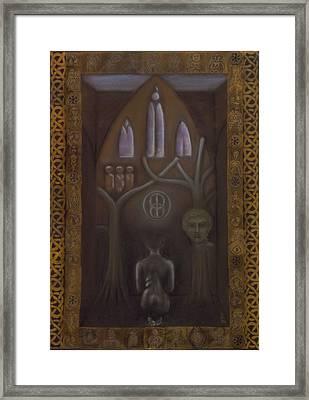 The Sacred Space Framed Print