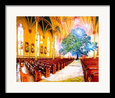 Sacred Artwork Digital Art Framed Prints