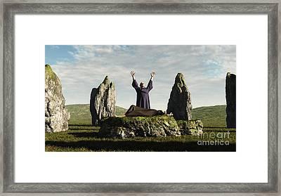 The Sacrifice Framed Print by Fairy Fantasies