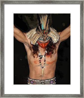 The Sacrifice Framed Print by Koa Feliciano