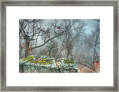 The Sacrificial Altar Of Prometheus Framed Print by William Fields