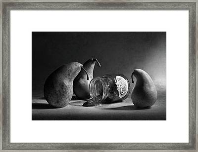 The Sad Farewell/ The 3rd Part Of The Jam Triptych Framed Print