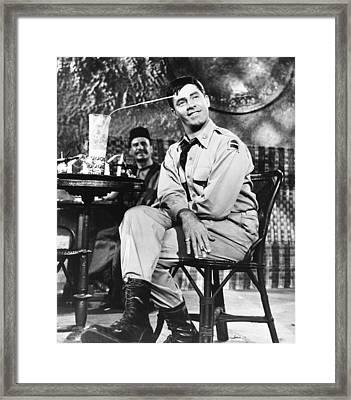 The Sad Sack, Jerry Lewis, 1957 Framed Print