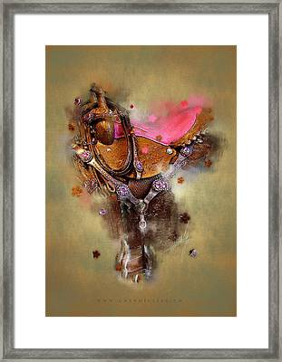 The Saddle II Framed Print by Graphicsite Luzern
