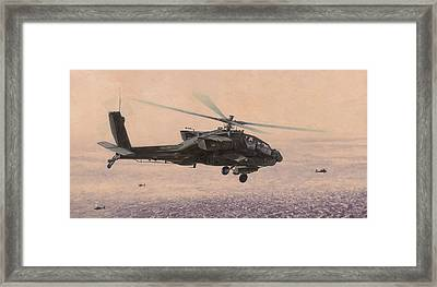 The Sadr City Flying Club Framed Print by Wade Meyers