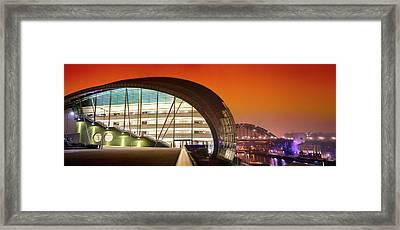 The Sage And River Tyne Illuminated Framed Print by John Short